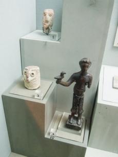 Bronze votive statue - Mleiha, 150-0 BC