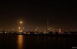 Blue Moon and Mars - Dubai, UAE