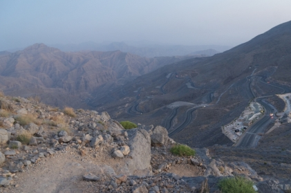 At Jebel Jais - Ras al Khaimah, UAE