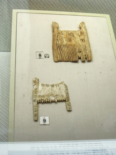 Ivory combs - Tell Abraq, 2200-2000 BC
