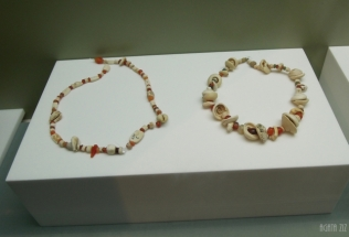 Etched carnelian beads - Dibba, 100 BC-200 AD