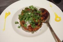 Aaloo chana chaat - chickpeas salad