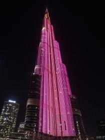 Burj Khalifa show - Dubai, UAE